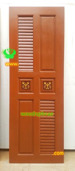 ประตูห้องน้ำไม้สัก